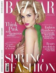 Harper's Bazaar Magazine (March 2014) UK